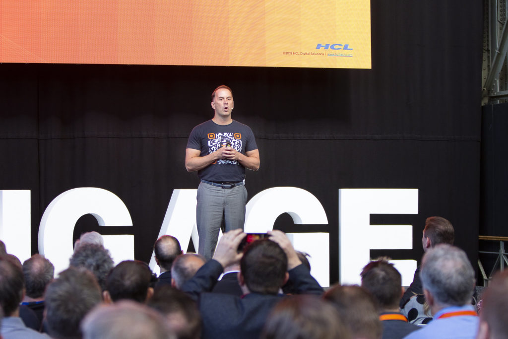 Richard Jefts at Engage in 2019