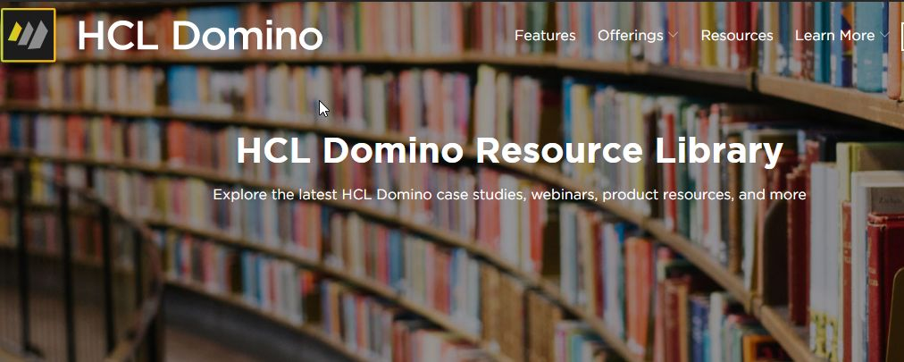 The HCL Domino Resource Library