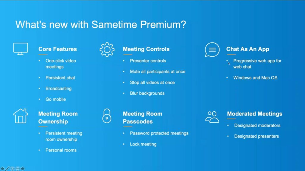 HCL Sametime Premium Features